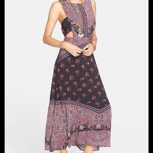 Free People Sunrise Oblivion Purple Maxi Dress